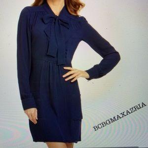 """🆕 w/o Tags. BCBGMAXAZRIA """"Serenity"""" Dress in Navy"""